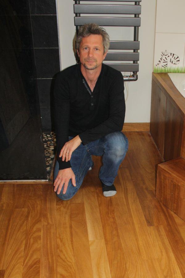 Portrait de David MULLARD, artisan parqueteur