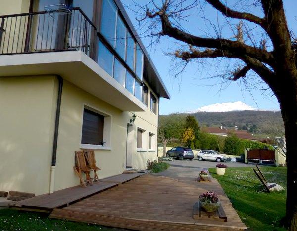 Photo d'une terrasse réalisée par Mullard Parquet
